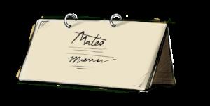 Icona Menù - Mater Delivery - Mater - Dove la Passione Lievita